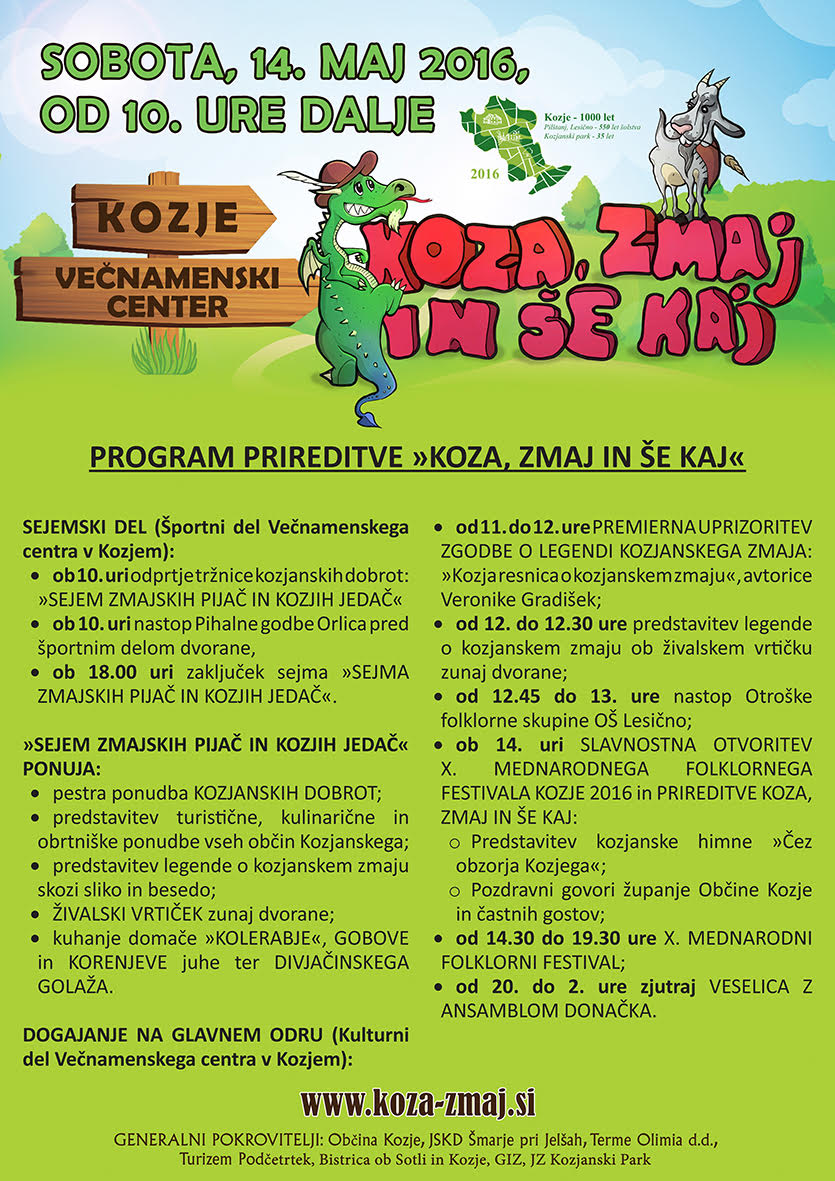 program Koza, zmaj in še kaj